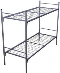Кровать металлическая двухъярусная.усиленная сетка сварная