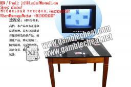 XF новый черный цвет материала перспектива стол для не-маркированных играющих покерных карт