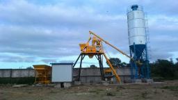 бетонный завод HZS25D