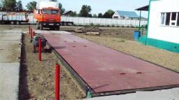 Весы автомобильные платформенные УралВес L=18 м, НПВ 60 тонн