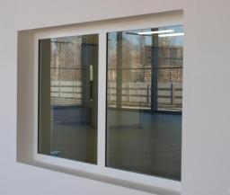 Окна алюминиевые из теплого профиля