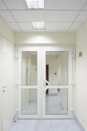 Дверь Алюминиевая Противопожарная