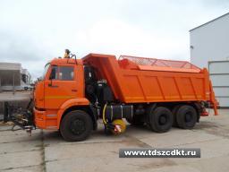 Дорожные машины КДМ на базе самосвалов КАМАЗ 65115 или КамАЗ 6520