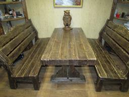 Мебель под старину. Брашированная сосна. Состаренная мебель.