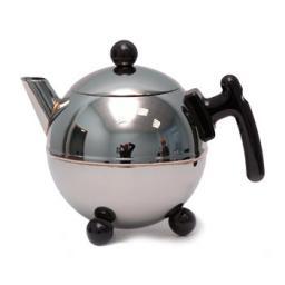 Чайник с двойными стенками Duet Bella Ronde 0,75 л. черный