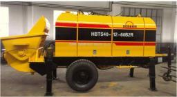Бетононасос стационарный дизельный DEBOOM 40 м3/час
