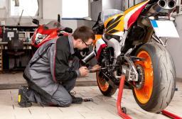 Техосмотр на мотоцикл