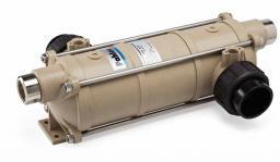 Теплообменник Pahlen HI-TEMP из термостойкого пластика с титановой спиралью