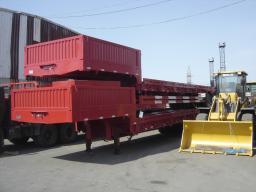 Трал «СIMC» c бортами , контейнеровоз, грузоподъёмностью 70 тонн