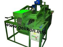 Станок горбыльно-перерабатывающий ГП-500-3-УП (с 3 приводными вальцами, раздвижными передними пилами, уменьшенный пропил)