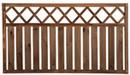 деревянный забор из штакетника