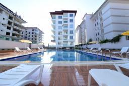 Продается в Турции новая уютная квартира на первой линии в Алании