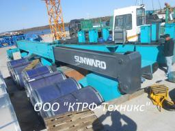 Сваевдавливающая установка, СВУ, копер Sunward ZYJ260BJ