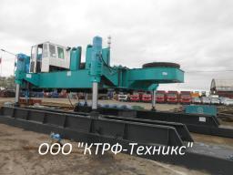 Сваевдавливающая установка, СВУ, копер Sunward ZYJ320B
