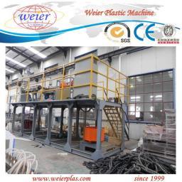 Линия для производства защитной спиральной ленты