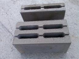 Блок стеновой рядовой 4-х пустотный