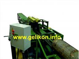 Станок брусующий проходного типа (с двигателями 2 шт х 22 квт) СЛД-2П-1000 диаметр бревна в комле до 370 мм