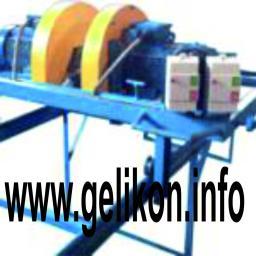 Станок кромкообрезной двухпильный с подвижной кареткой размер доски меняется без остановки СК-050 (11 кВт)