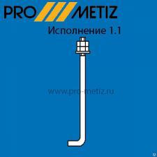 Болт фундаментный 1.1 М12х500 ст3пс2 ГОСТ 24379.1-80