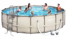Каркасный круглый бассейн BestWay 56232 549 см х 132 см