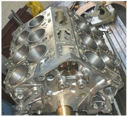 Ремонт блока цилиндров Honda