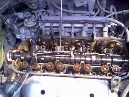 Замена маслосъемных колпачков Honda