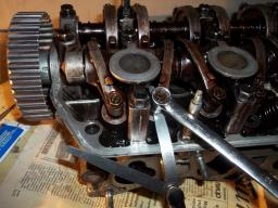 Ремонт головки двигателя Honda