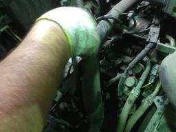 Замена заднего сальника коленвала Honda