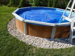 Бассейн круглый Эсприт 2,4м.х1,25 м. Atlantic pool, Канада
