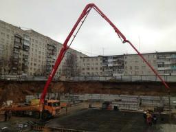 Аренда автобетононасоса, бетононасоса 38 метров