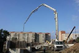 Аренда автобетононасоса, бетононасоса 42 метра