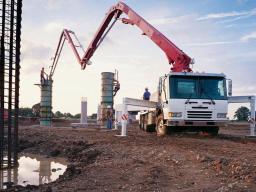 Аренда бетононасоса 48 м