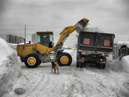 Снегоуборочный погрузчик FAW