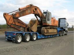 Трал HOWO Trailer 60 тонн