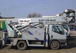 Аренда, услуги, прокат автовышки АГП 15 метров