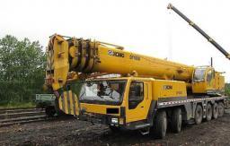 Аренда автокрана Liebherr 100 тонн стрела 52 метра