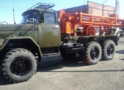 Буровая установка ЛБУ-50 на базе автомобиля ЗИЛ-131