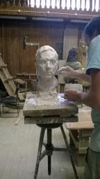 Черновая и чистовая формовка особо сложных скульптурных произведений