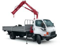 Услуги кран-манипулятора Hyundai (борт 7,5 метров)
