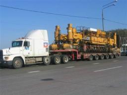 Аренда трала от 20 до 120 тонн, перевозка групногабаритного груза