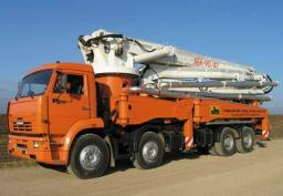 Доставка бетона миксерами М100-М400