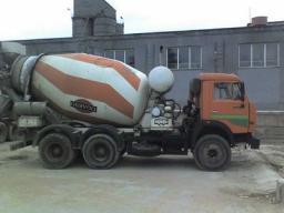 Продажа, доставка бетона бетоносмесителями