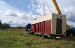 Блочно-модульная станция биологической очистки сточных вод