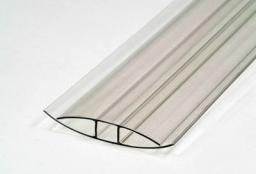 Профиль Н-образный, соединительный (толщина 6мм)
