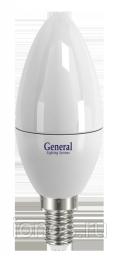 Светодиодная лампа 4W (Теплый белый) General ЭКО