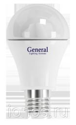 Светодиодная диммируемая лампа 7W (Теплый) General ЭКО