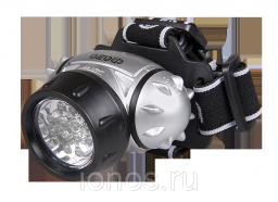 Налобный светодиодный фонарь, 12 светодиода