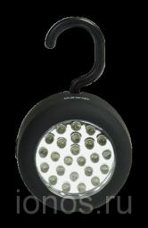 Светодиодный фонарь, 24 светодиода, магнит
