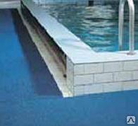 Противоскользящее покрытие (в бассейнах, на ступени, в раздевалках)