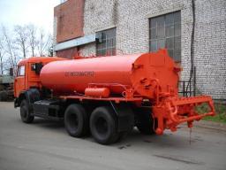 Автогудронатор на шасси КамАЗ-65115
